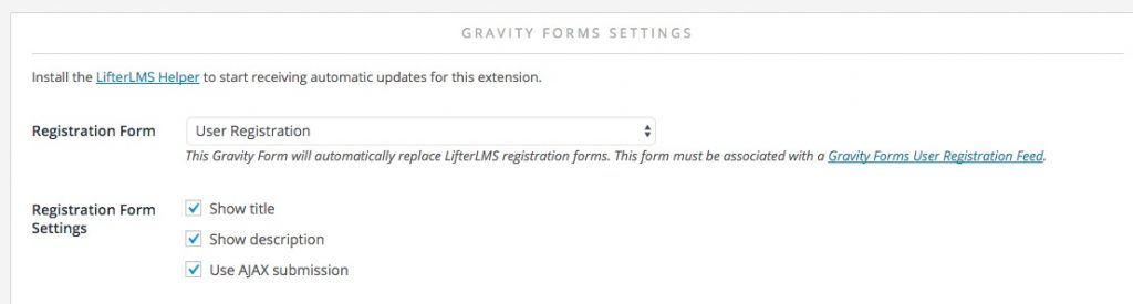 Custom Registration And Account Edit Forms - Lifterlms